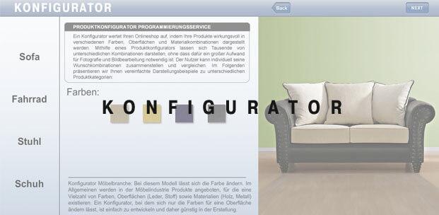 Konfigurator Vertriebstool Zur Darstellung Und Zum Verkauf Hoher